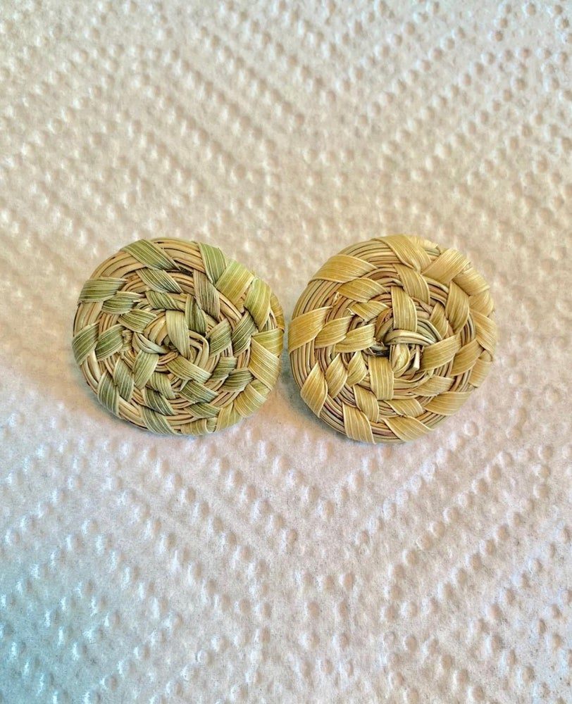 Image of Sweetgrass Stud Earrings