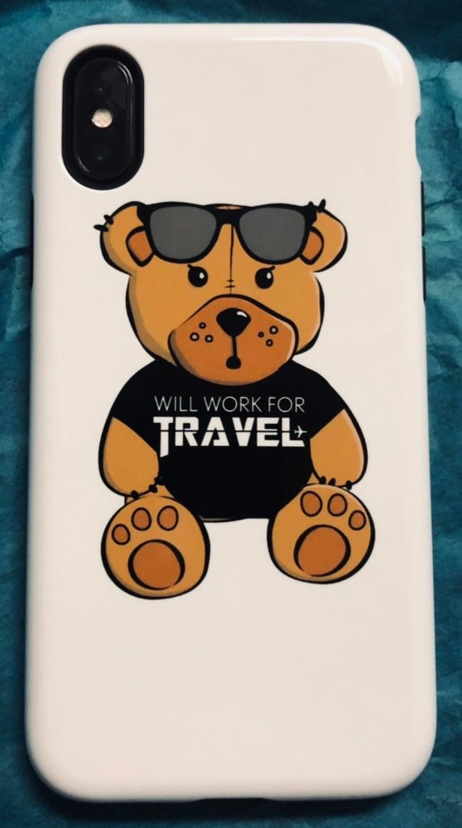 Image of Travel Bear Phone Case