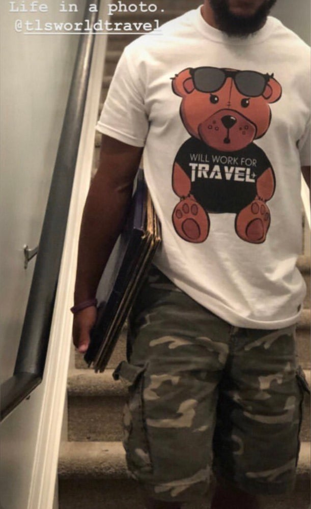 Image of Travel Bear Unisex Tee