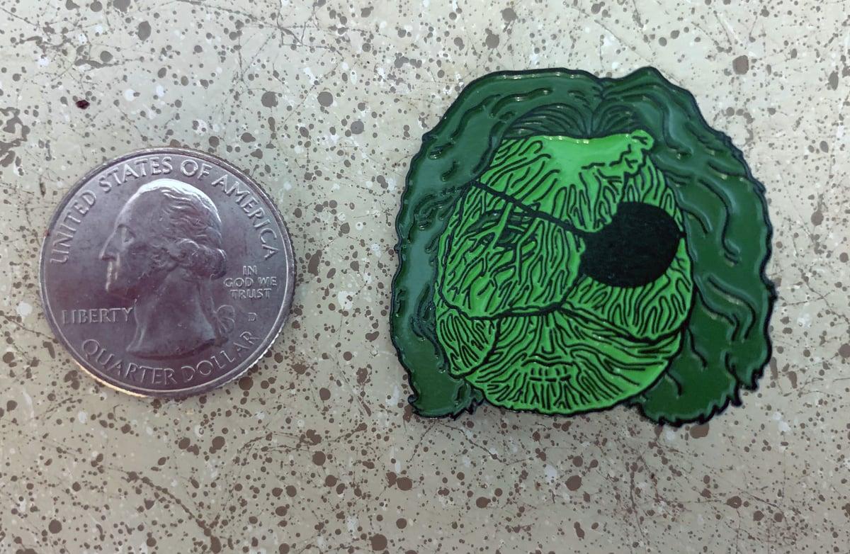 Image of Kurt Brussel Enamel Pin