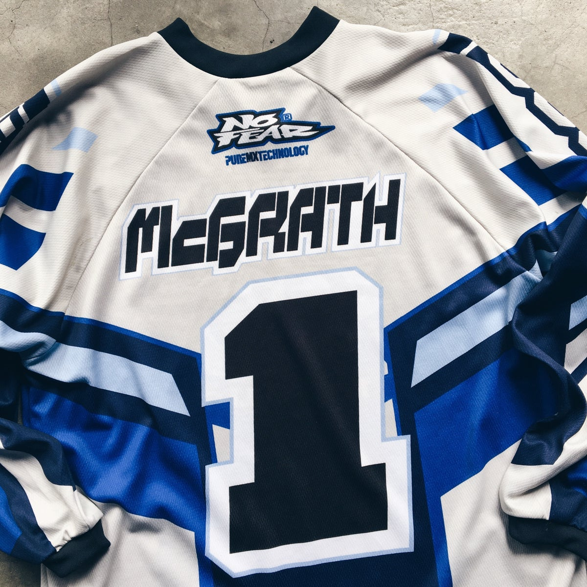 Image of Original Vintage No Fear Jeremy McGrath Racing Jersey.
