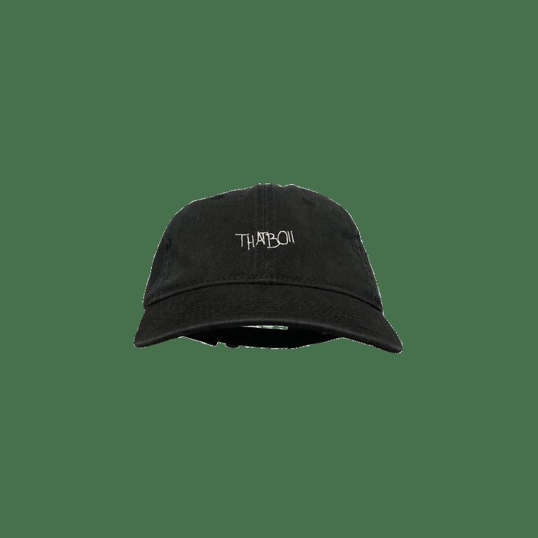 Image of thatboii cap - washed black