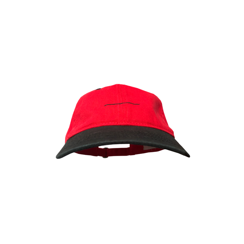 Image of thatboii cap - red/black