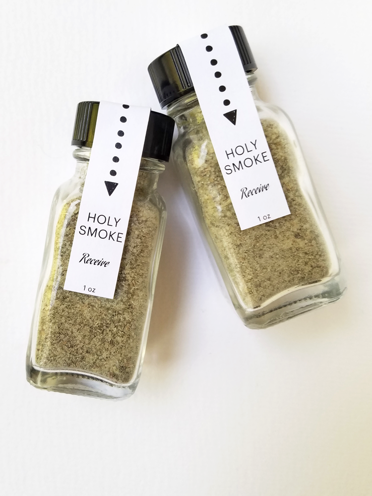 HOLY SMOKE, Incense for Receiving