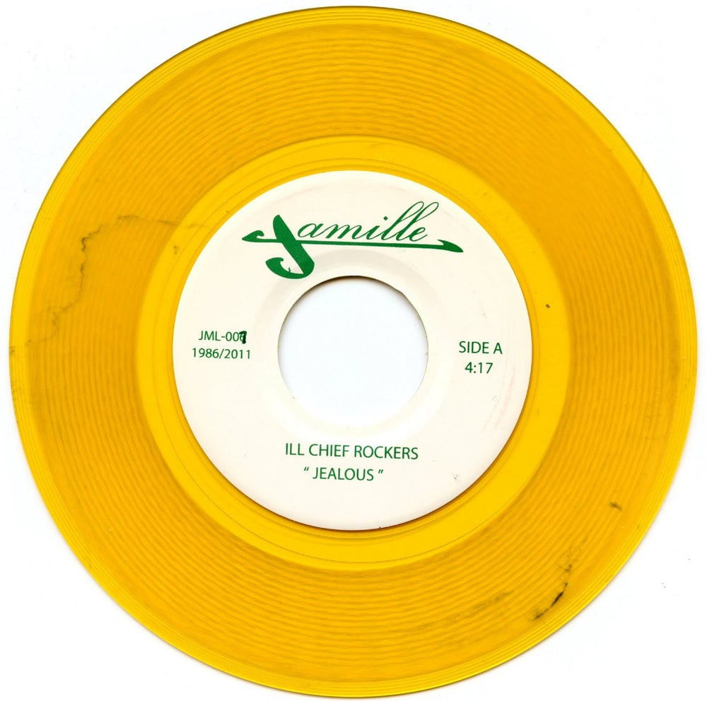 "Image of ILL CHIEF ROCKERS  ""JEALOUS / I GOTTA ROCK"" 7"""