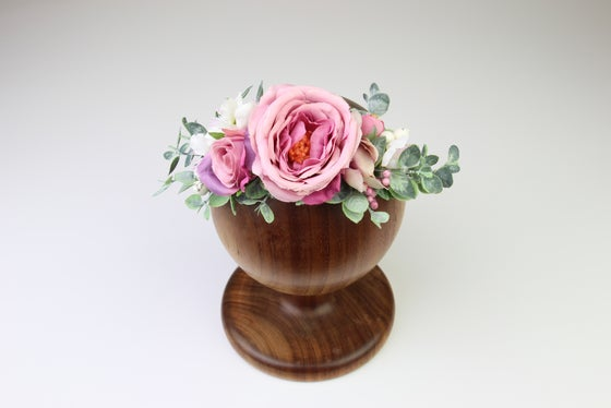 Image of Sitter-Adult Mauve Floral Crown - b