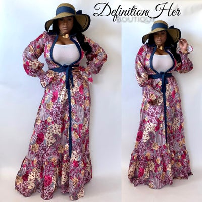 Image of Denim & All Kinds of Class Maxi