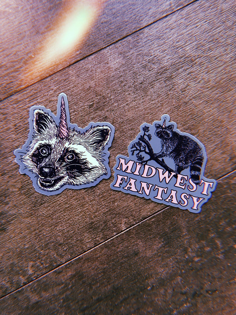 Image of Midwest Fantasy Sticker 2 Pack