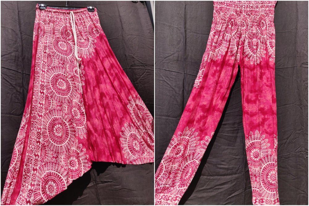 Image of Marbled Mandala Harem Pants
