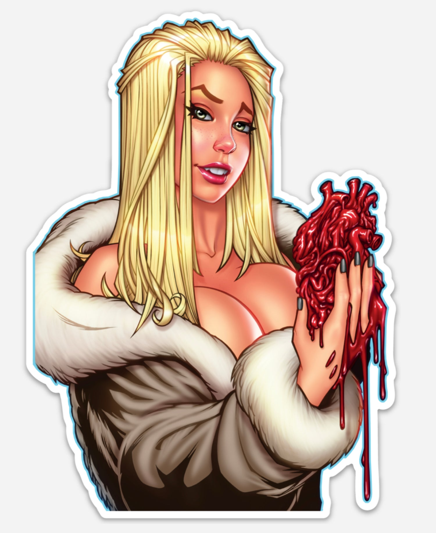 Image of Dark Red Die Cut Sticker