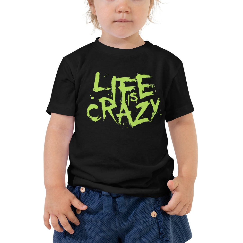 Image of Toddler Life is Crazy (Neon Logo) T-shirt