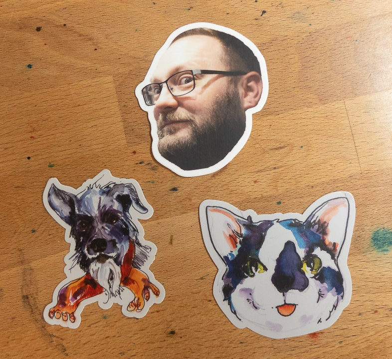 Image of Inkdependence & Friends Team Stickers v2