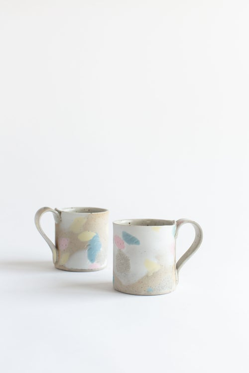 Image of Primary Pastel Handled Mug