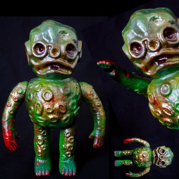 """Image of SKULL HEAD BUTT X OLTRETOMBA """"DEATH BY OOZE"""" ONE-OFF"""