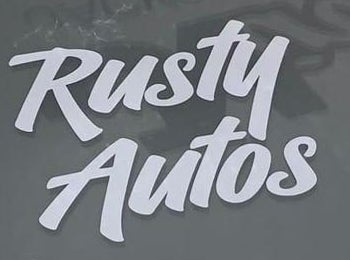 Image of Rusty Autos Stickers!