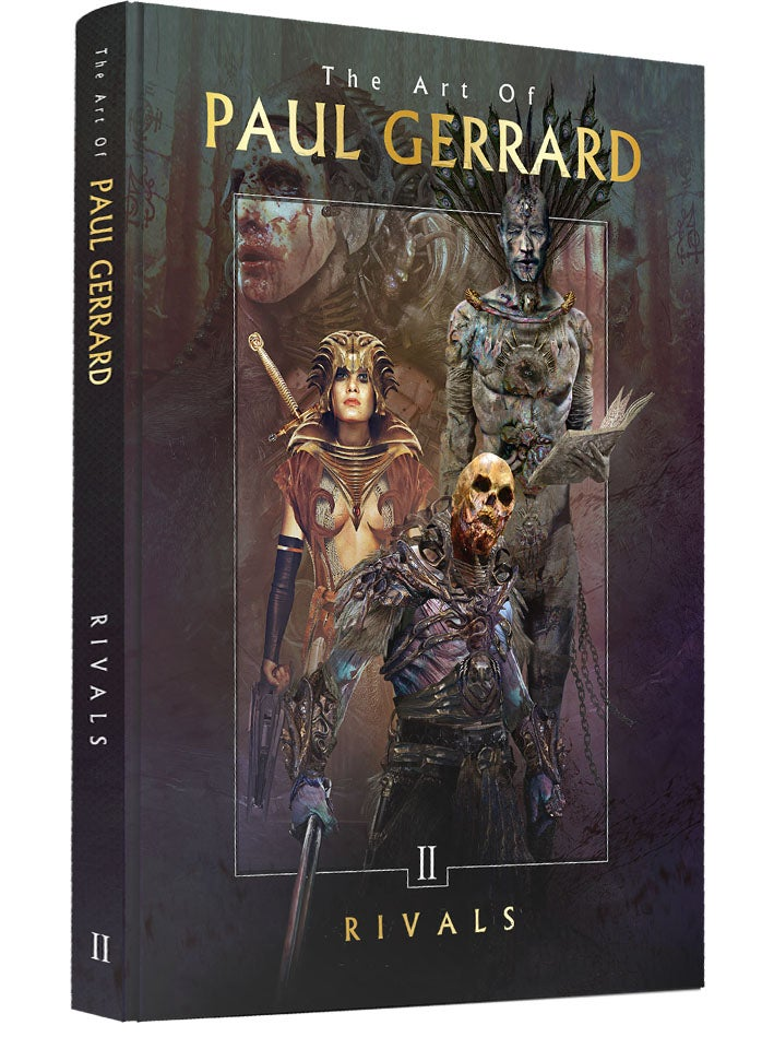 Image of ART OF GERRARD Vol 2 : RIVALS /  HARDCOVER STANDARD EDITION