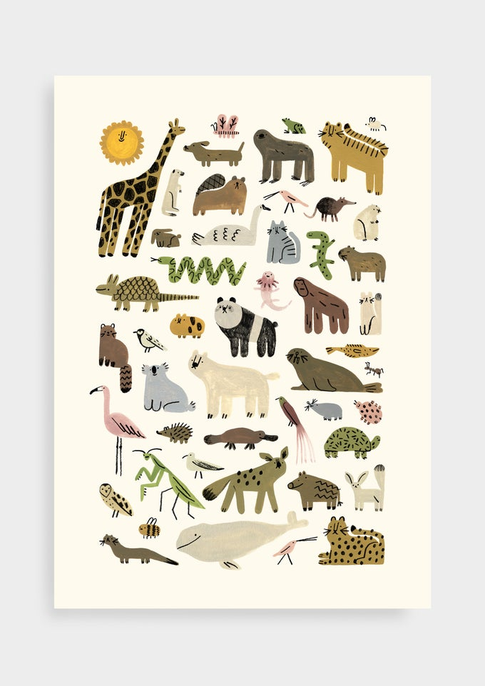 Image of Dorky Animals | Poster