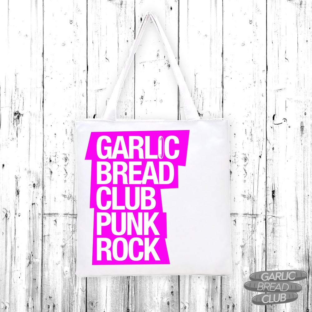 Image of Garlic Bread Club Tote Bag