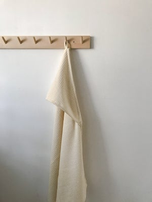 Image of waffle bath cape