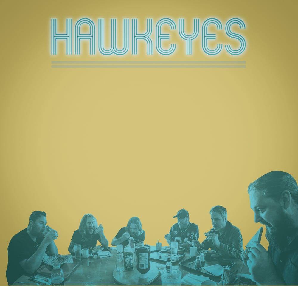 Hawkeyes - Last Light Of Future Failure (CARDINAL FUZZ) colour vinyl 1 LEFT