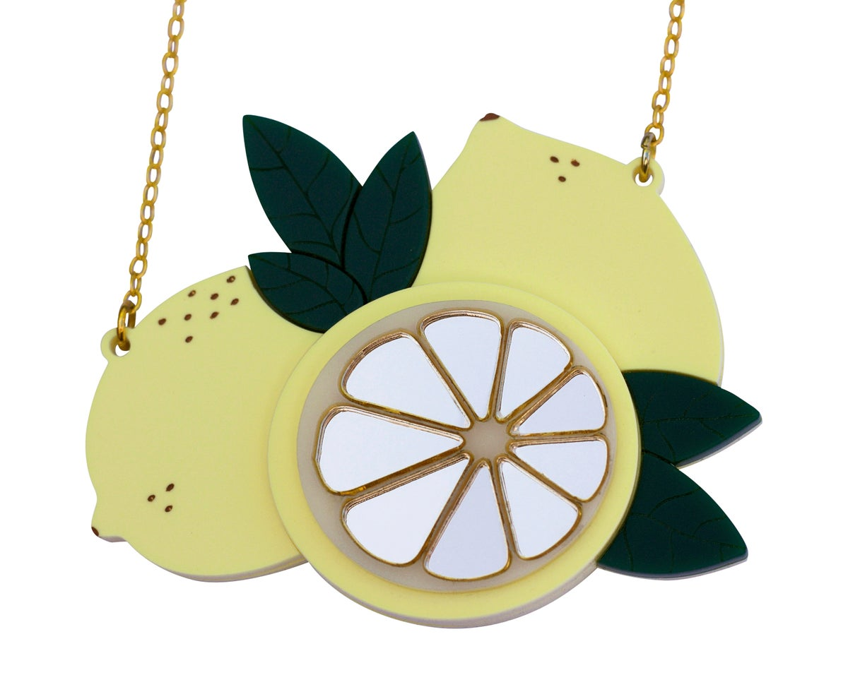 Image of Sicilian Lemon Necklace