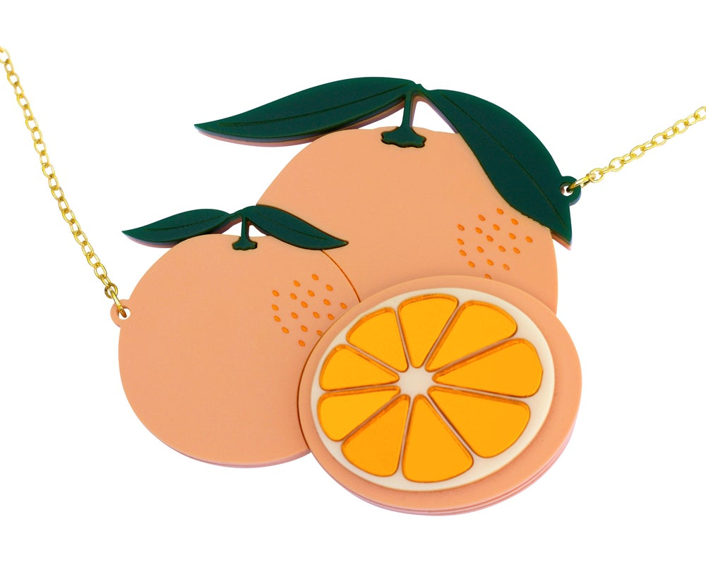 Image of Valencian Orange Necklace