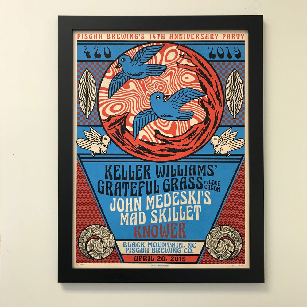 Image of Keller Williams' Grateful Grass and John Medeski's Mad Skillet Knower Concert Poster