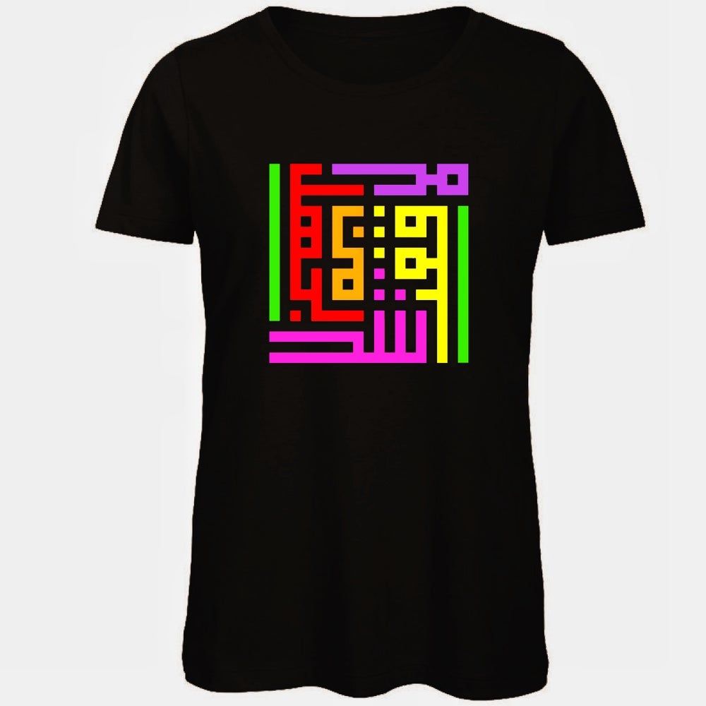 Image of Woman t-shirt - Holi calligraffiti by RamZ