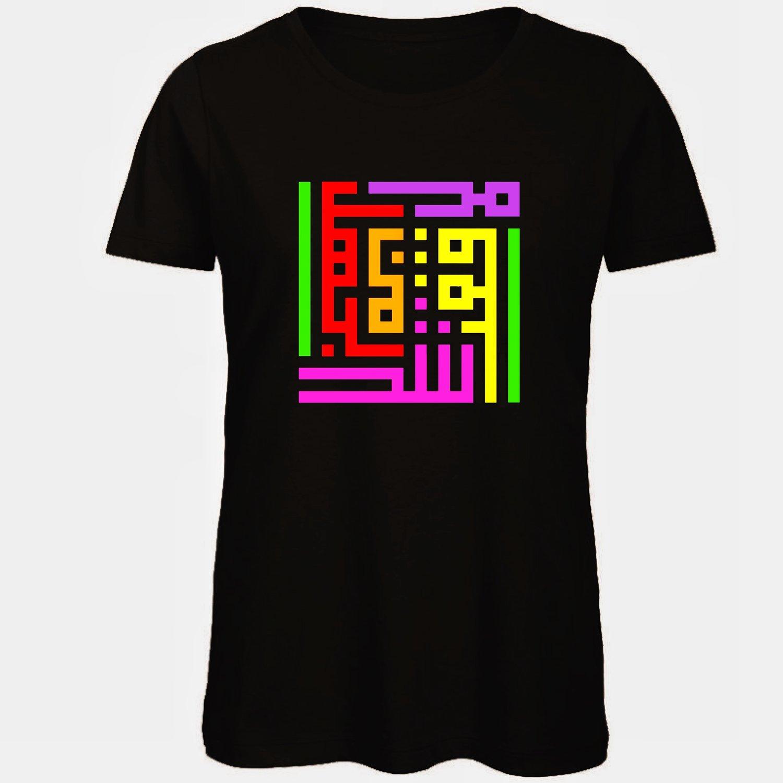 Image of Woman t-shirt - Holi calligraffiti