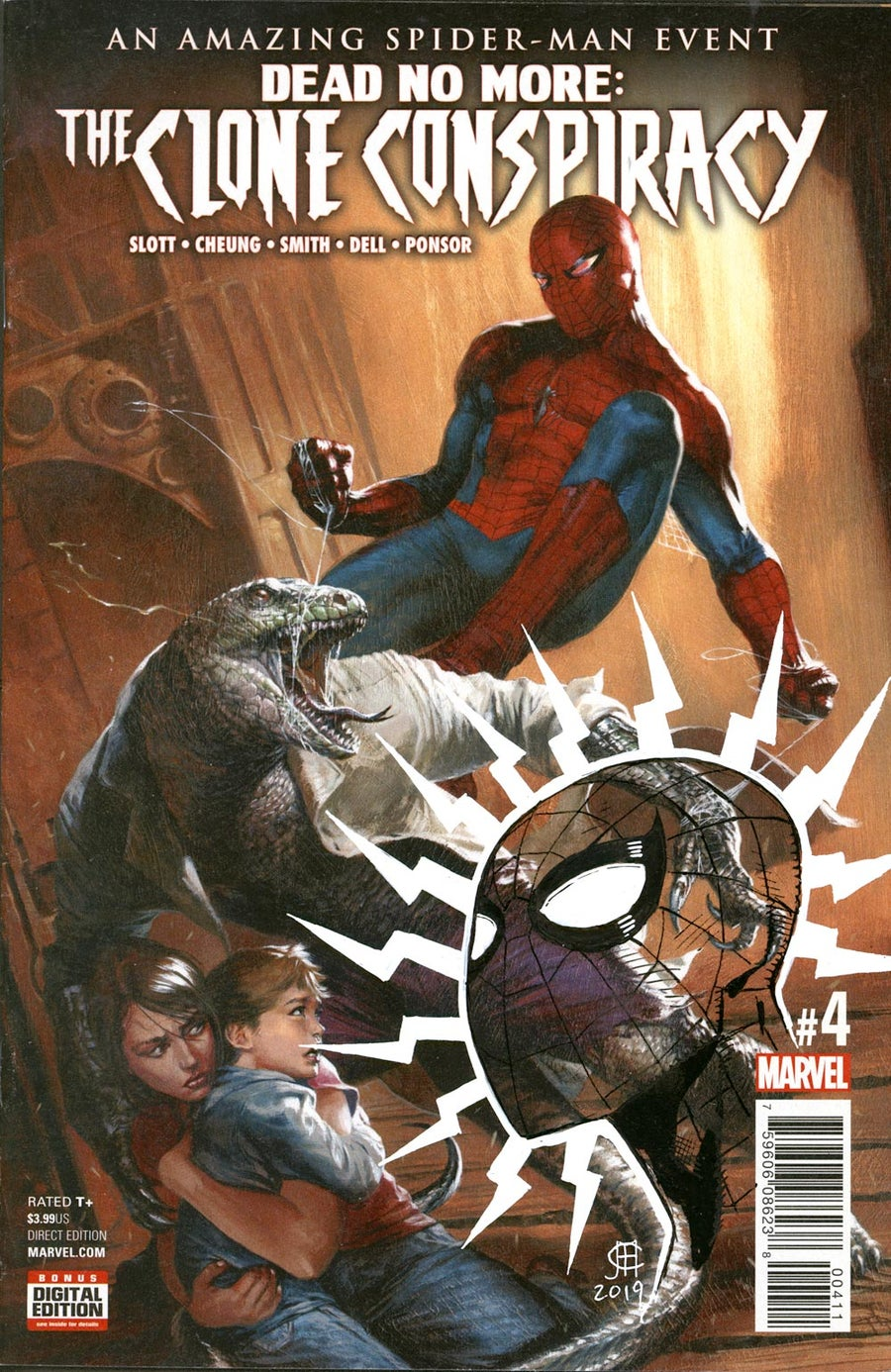 Image of THE CLONE CONSPIRACY #4 - Spider-Man Remarque