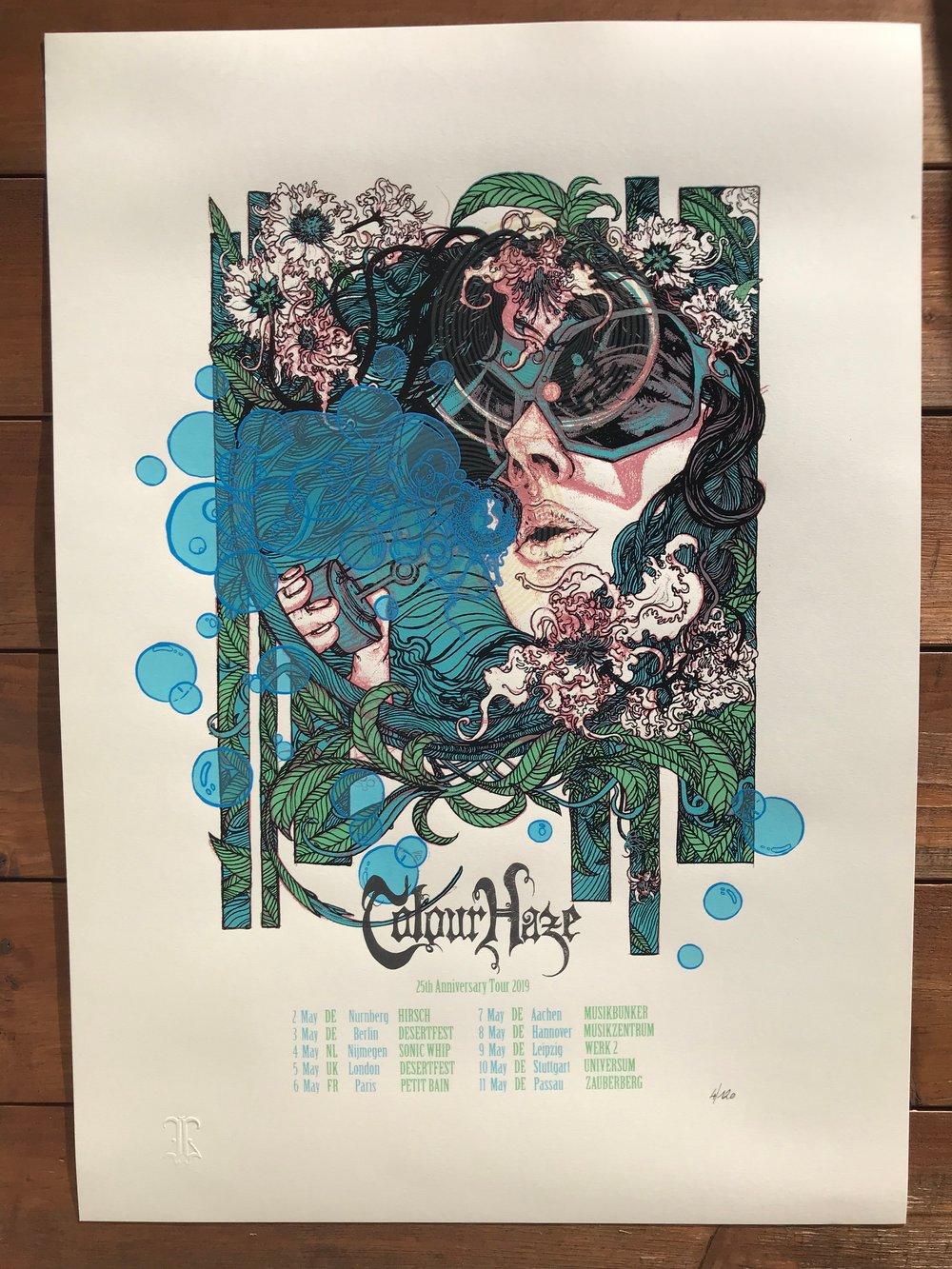 Image of COLOUR HAZE 25th Anniversary Tour 2019
