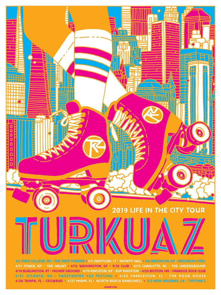 Image of Turkuaz Life In The City Tour 2019