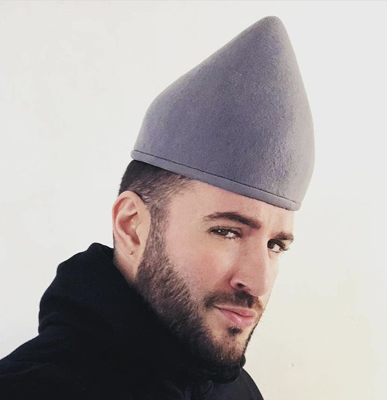 Image of Felt Sharpie hat