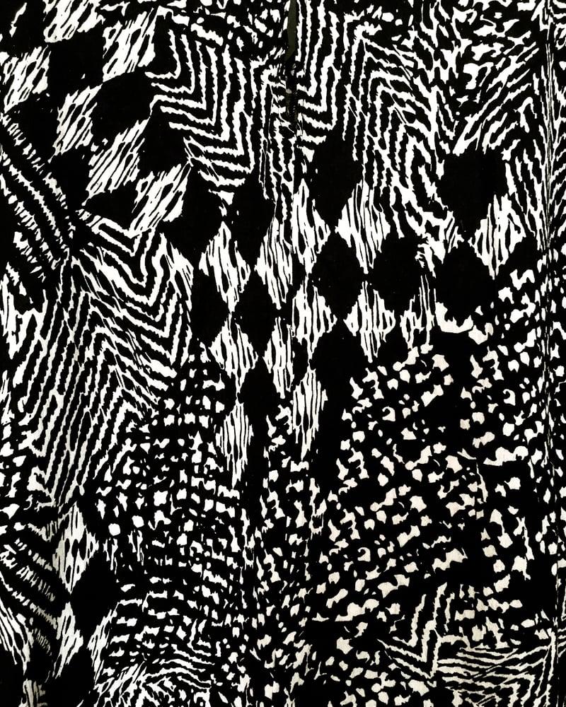 Image of •Fifè• cocoon maxi: salt + pepper prowl