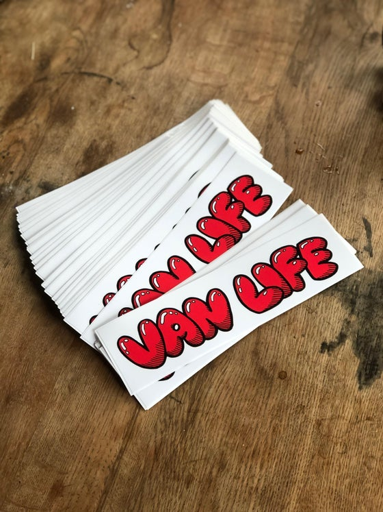 Image of VANLIFE BUMPER STICKER