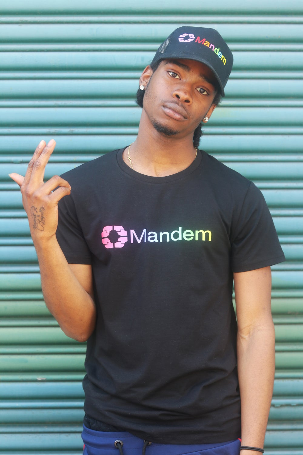 Image of MANDEM COLOURS Gradient Tee