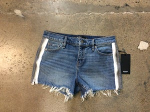 Image of Hudson Cutoff Blue Jean Shorts