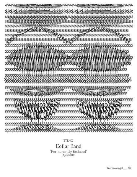 Image of Dollar Band - Permanently Reduced LP