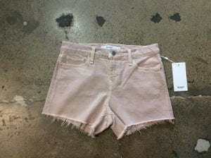 Image of Hudson Pink Denim Shorts