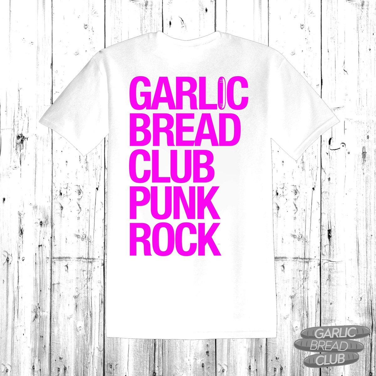 Image of Garlic Bread Club Shirt White
