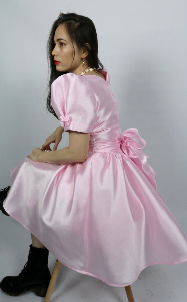 Image of Princess Dress in Pink Silk by GFD