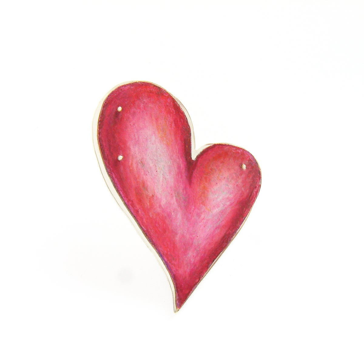 Image of Whole Lotta Love Heart Brooch