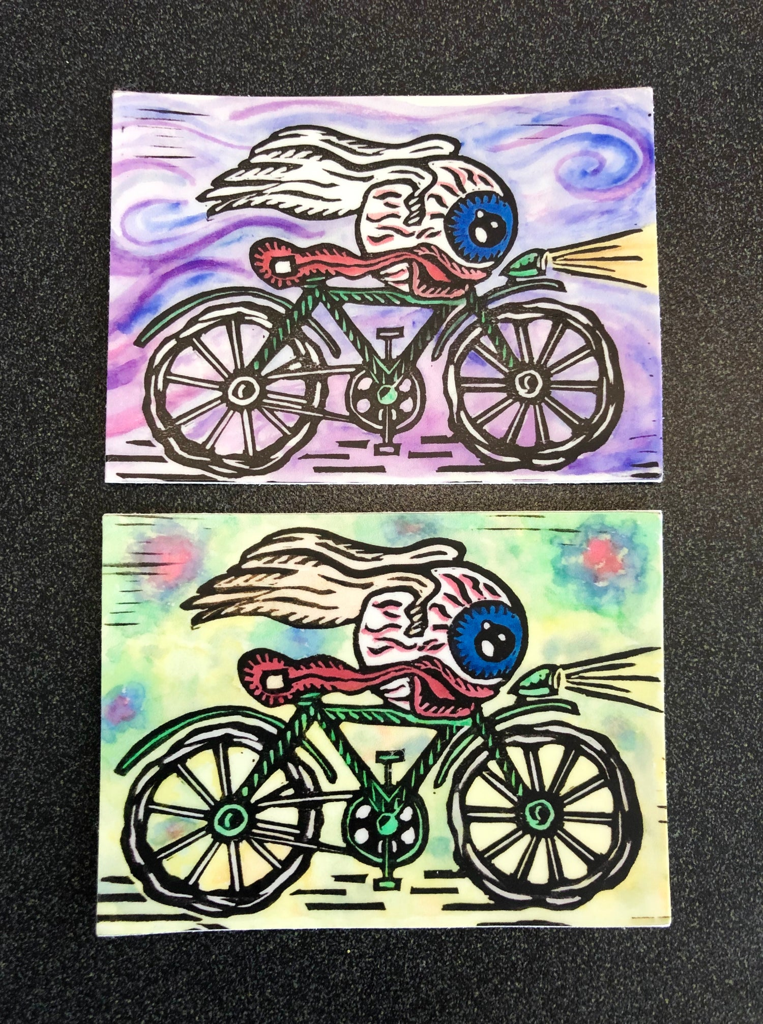 Image of Bicycle Day stickers