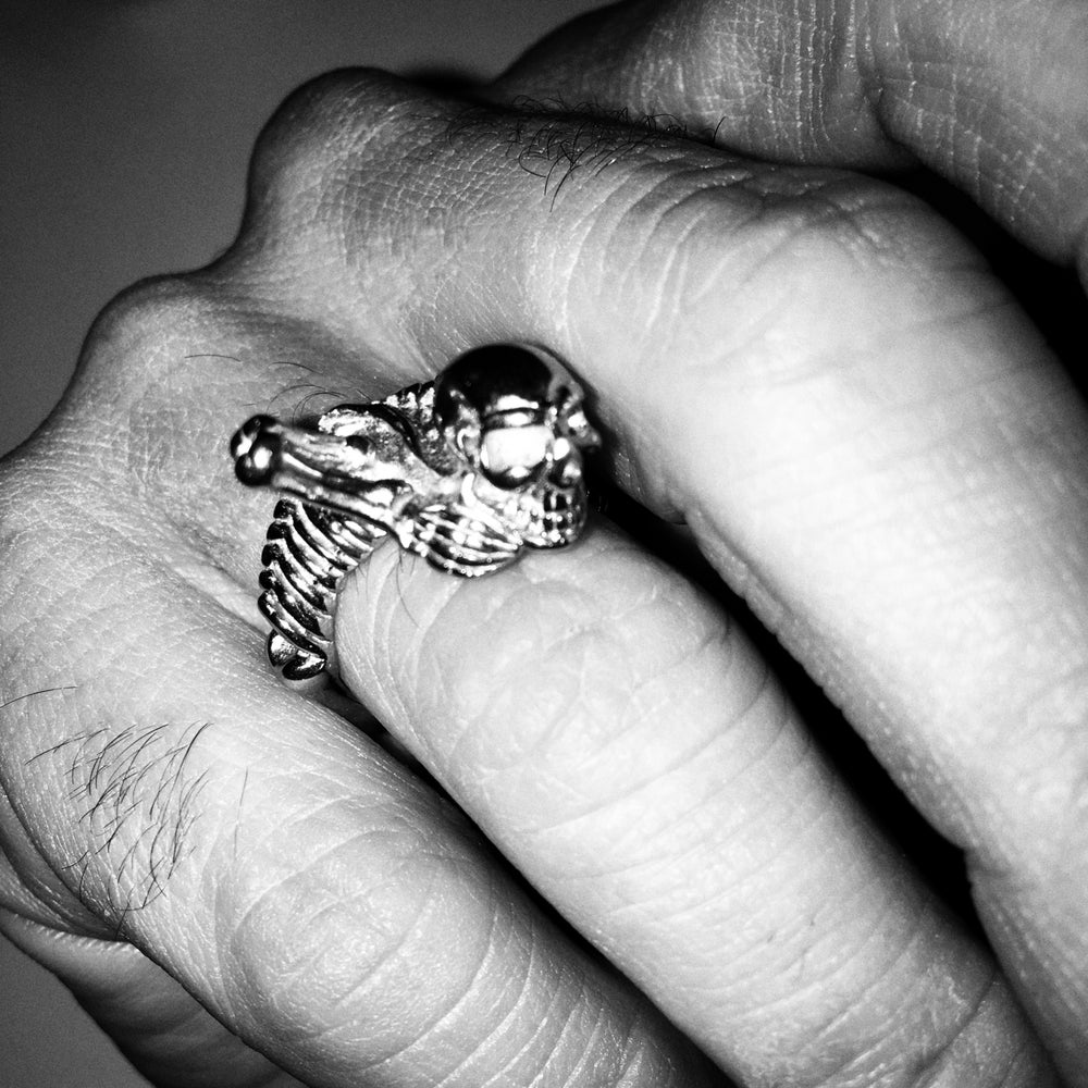 Image of Skeleton Ring / Size 8