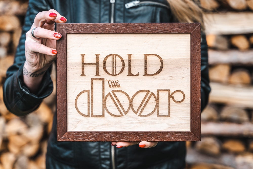 Image of Hold the DOOR