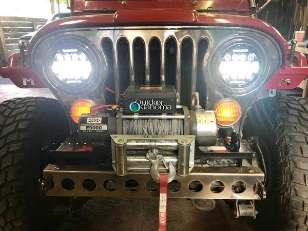 Image of Jeep Cj -Jku led headlight