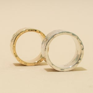 Image of 12mm HAMMERED Band