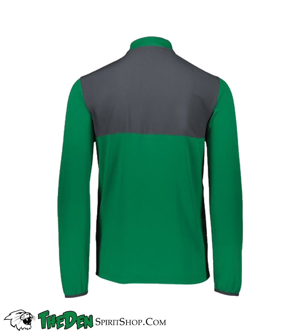 Image of Holloway Weld Hybrid Pullover Jacket, Green