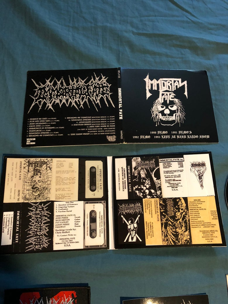 Image of Immortal Fate demos cd