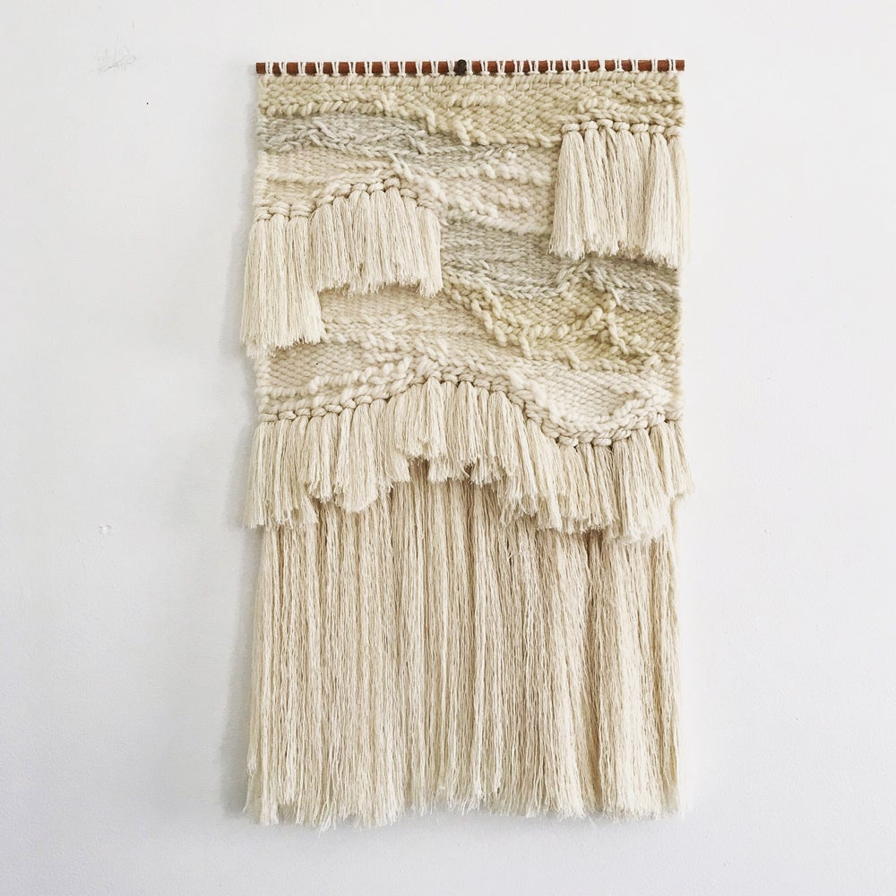Image of BLEACHED WEAVING